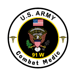 United States Army Combat Medic Custom Patches