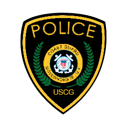 United States Coast Guard Police Custom Patches