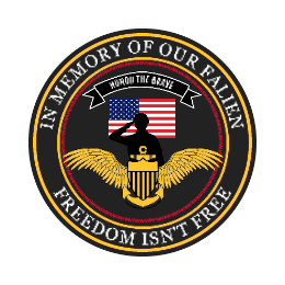 Honor The Brave Custom Patches