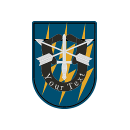 Lightning  Military Custom Patches