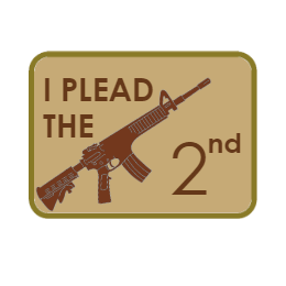 I Plead The 2nd Custom Patches