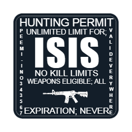 Hunting Permit Custom Patches