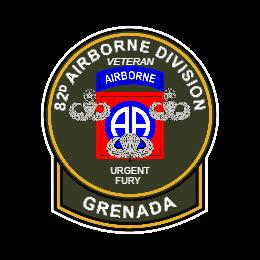 82D Airborne Division Custom Patches