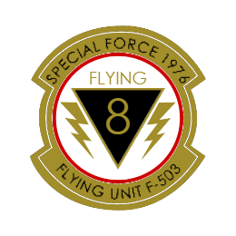 Special Force 1976 Custom Patches