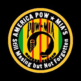 America Pow Custom Patches