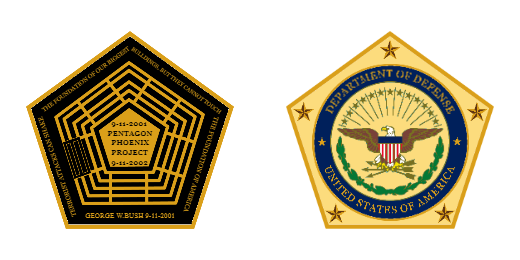 9-11 Terrorist Attacks Can Shake Pentagon Department Of Defense Custom Coins