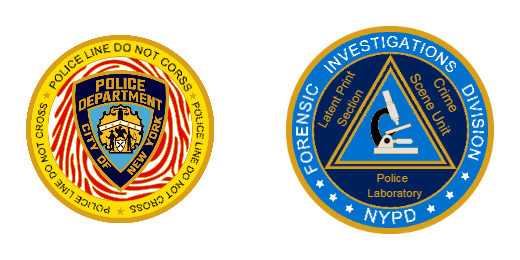 USA Police Investigations Division Custom Challenge Coins