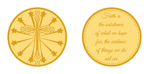 Faith Custom Coins