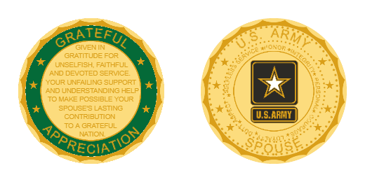 Grateful Appreciation Custom Coins