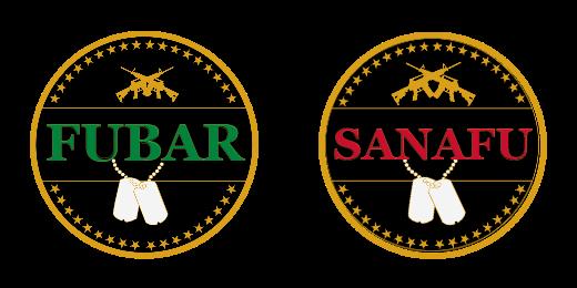 Fubar And Snafu Custom Coins