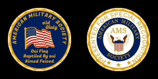 American Military Society Custom Military Coins